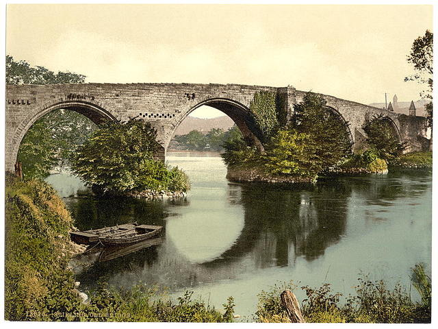 [Old bridge, Stirling, Scotland]