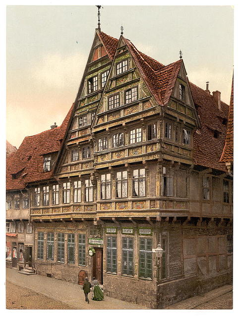 [Old house, Hildesheim, Hanover, Germany]