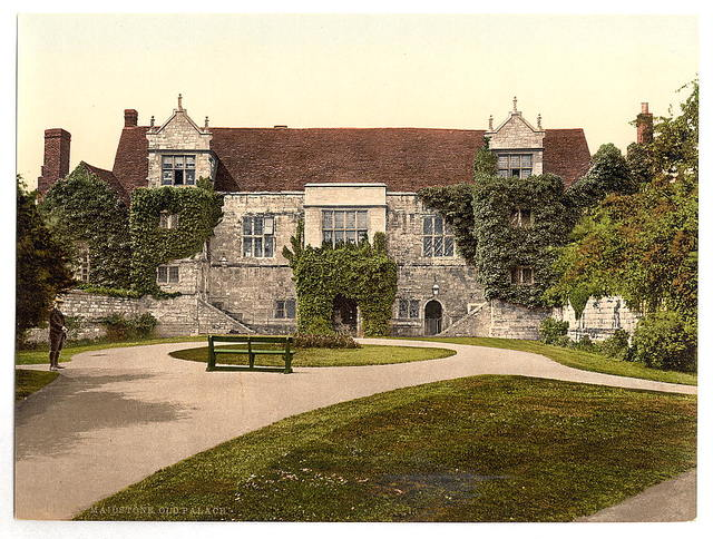 [Old Palace, Maidstone, England]