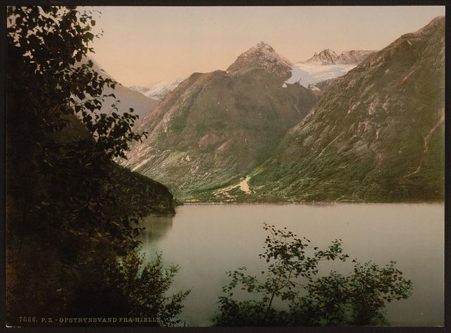 [Opstryn Lake from Hjelle, Stryn, Norway]