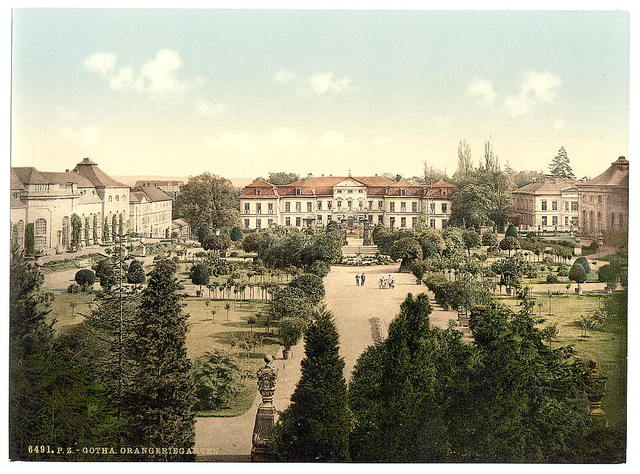 [Orangery Garden, Gotha, Thuringia, Germany]