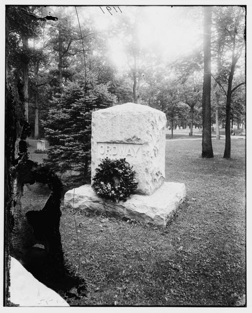 Ordway, General Albert. Grave at Arlington Cemetery