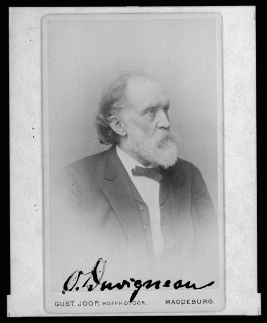 [Otto Duvigneau, head-and-shoulders portrait, facing right] / Gust. Joop, Hofphotogr., Magdeburg.