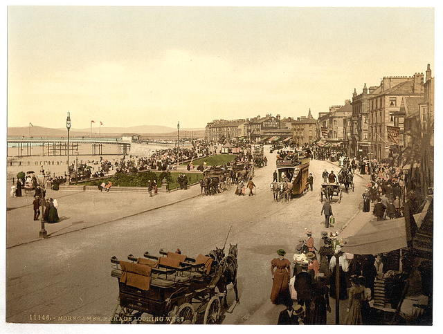 [Parade looking east, Morecambe, England]