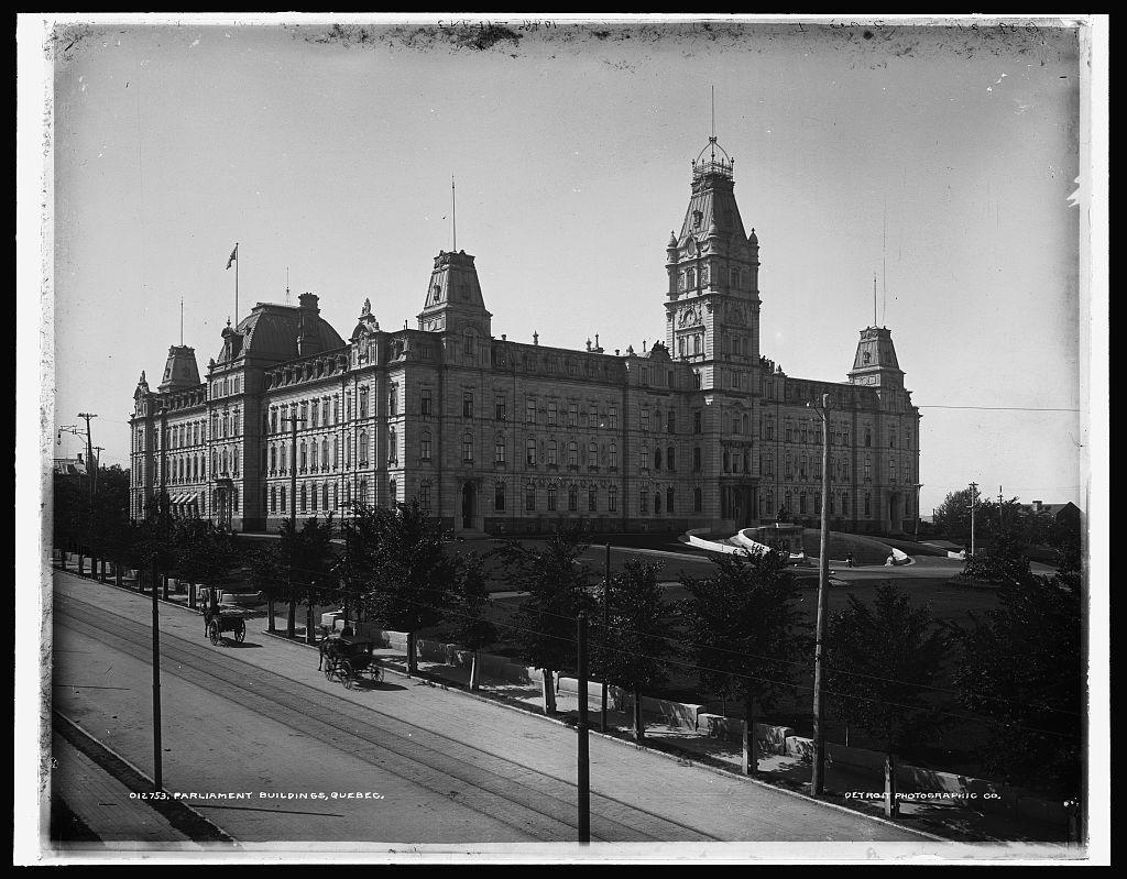 Parliament Buildings, Quebec