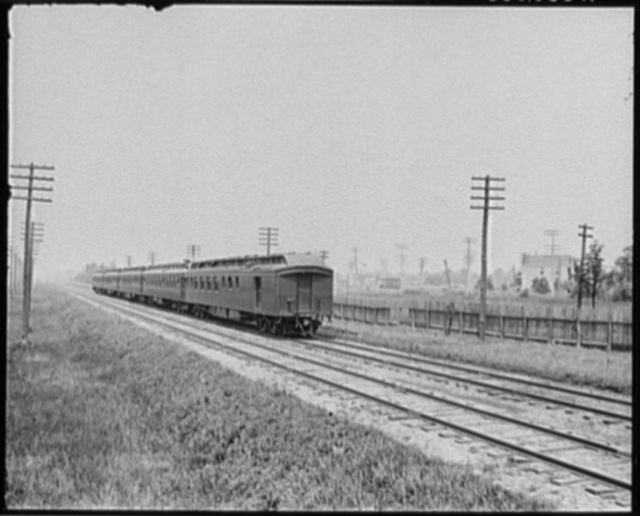 [Passenger cars of the Southwestern Limited, New York-St. Louis]