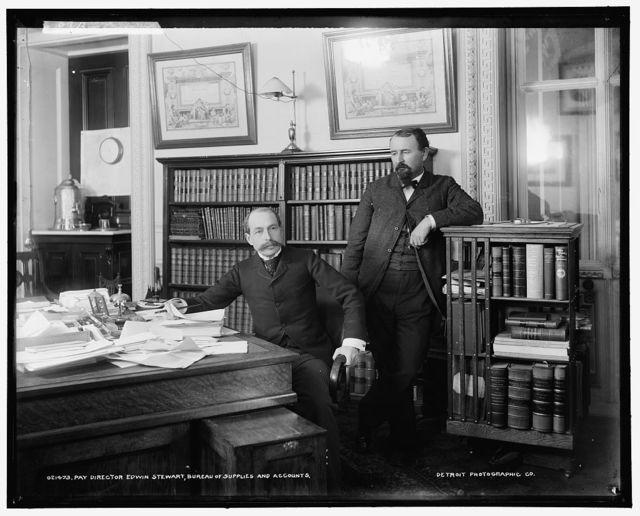 Pay Director Edwin Stewart, Bureau of Supplies and Accounts