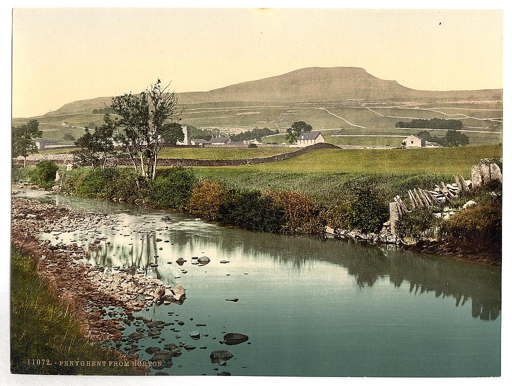[Penyghent, from Horton, Yorkshire, England]