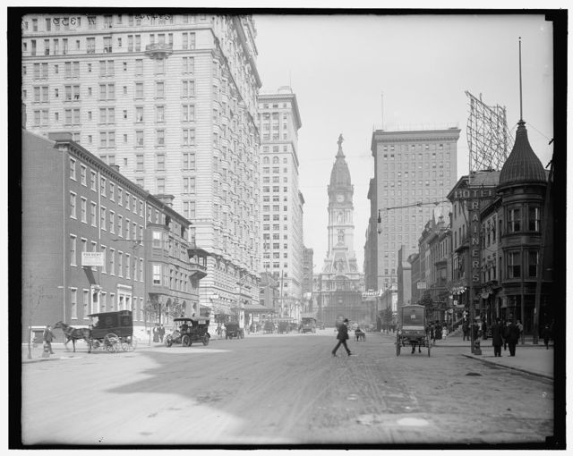 [Philadelphia, Pa., Broad St. north from Locust]