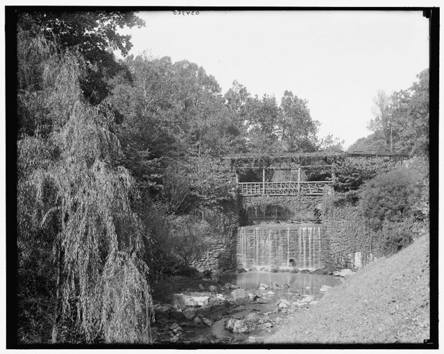 [Philadelphia, Pa., falls in Fairmount Park]
