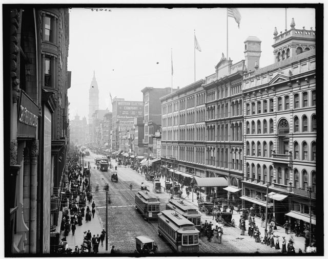 [Philadelphia, Pa., Market Street from Eighth]