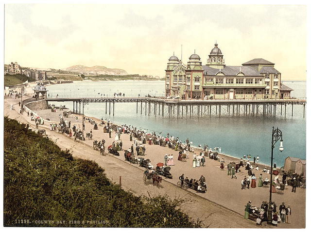 [Pier and Pavillion, Colwyn Bay, Wales]