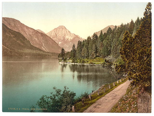 [Plansee, general view, Tyrol, Austro-Hungary]