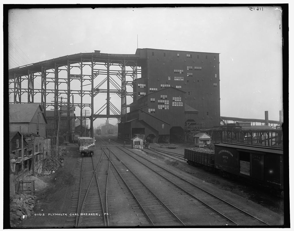 Plymouth coal breaker, Pa.