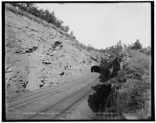 Pocono tunnel, D.L. & W. R.R.