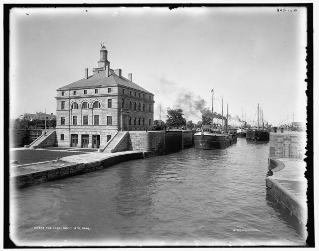 Poe Lock, Sault Ste. Marie