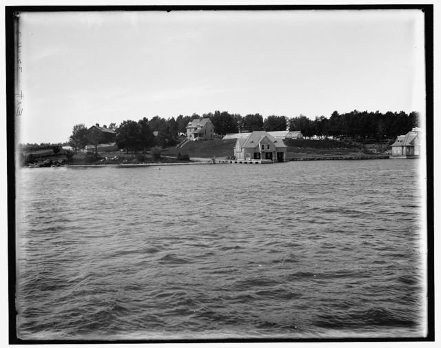 [Pound Island, St. Lawrence River, New York]