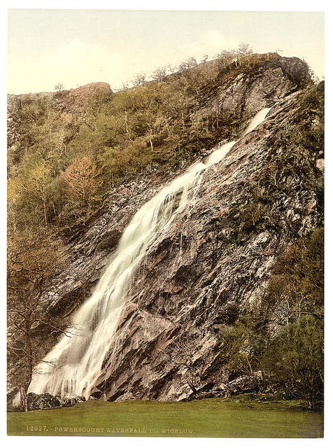 [Powerscourt Waterfall. County Wicklow, Ireland]