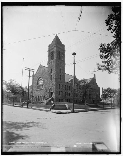 Presbyterian Church [i.e., Methodist Episcopal], Scranton, Pa.