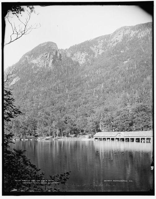 Profile Lake and Eagle Cliff, Franconia Notch, White Mountains