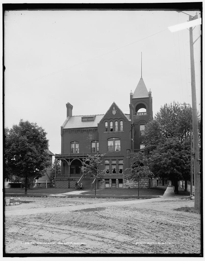 Psi Upsilon house, Ann Arbor, Michigan