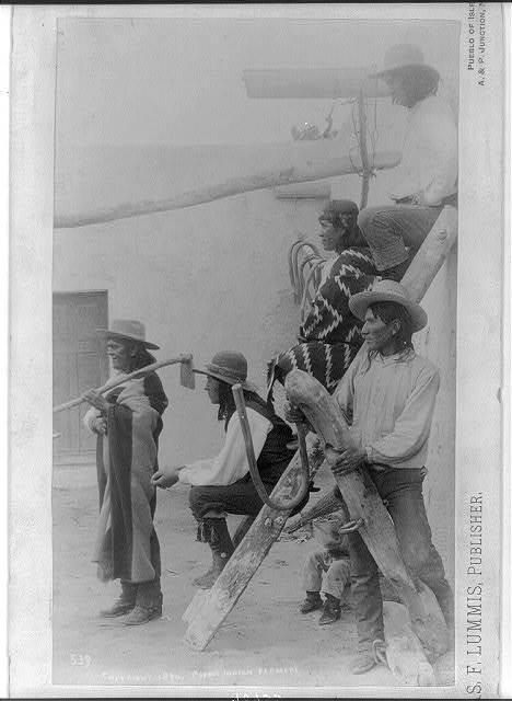 Pueblo Indian Farmers