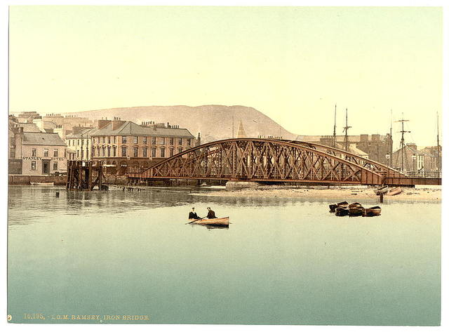 [Ramsey, iron bridge, Isle of Man]