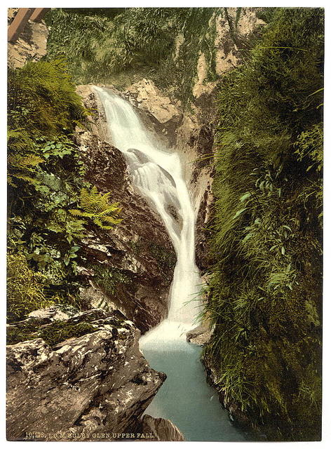 [Ramsey, Sulby Glen, Upper Falls, Isle of Man]