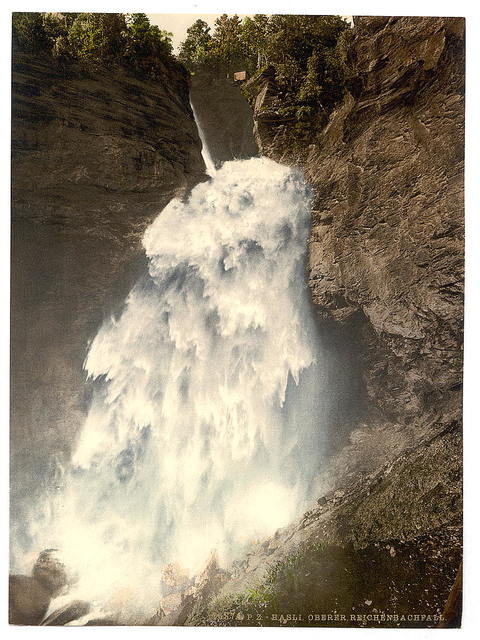 [Reichenbach, the Upper Falls, Bernese Oberland, Switzerland]