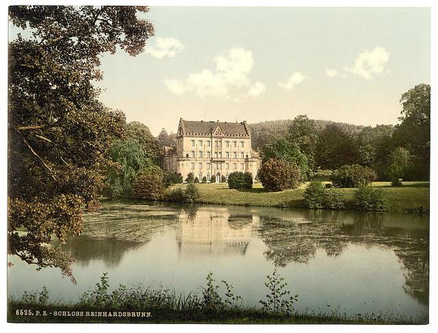 [Reinhardsbrunn Castle, Friedrichrhoda, Thuringia, Germany]