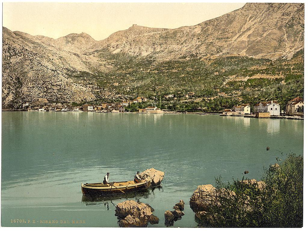 [Risano, from the sea, Dalmatia, Austro-Hungary]