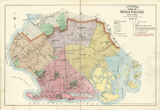 Robinson's atlas of Kings County, New York /