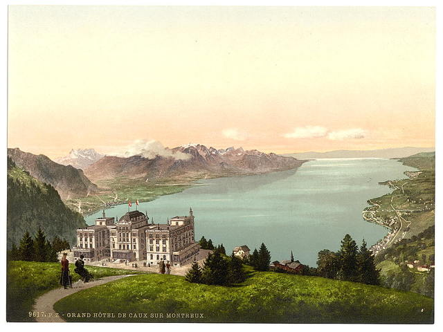 [Rochers de Naye, and Hotel de Caux, Geneva Lake, Switzerland]