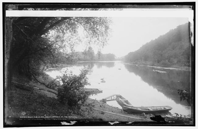 Rock and river, south branch of the Potomac