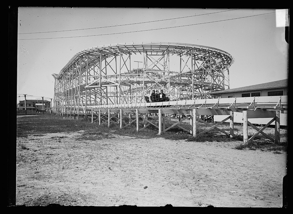 [Roller coaster, Paragon Park, Nantasket Beach, Mass.]