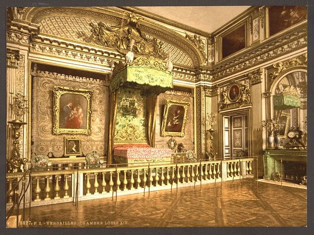 [Room of Louis XIV, Versailles, France]