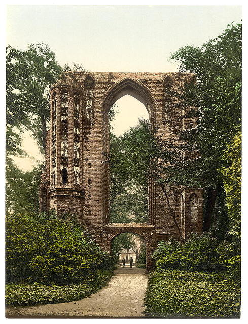 [Ruins of Eldena, Griefswald (i.e., Greifswald), Pomerania, Germany]