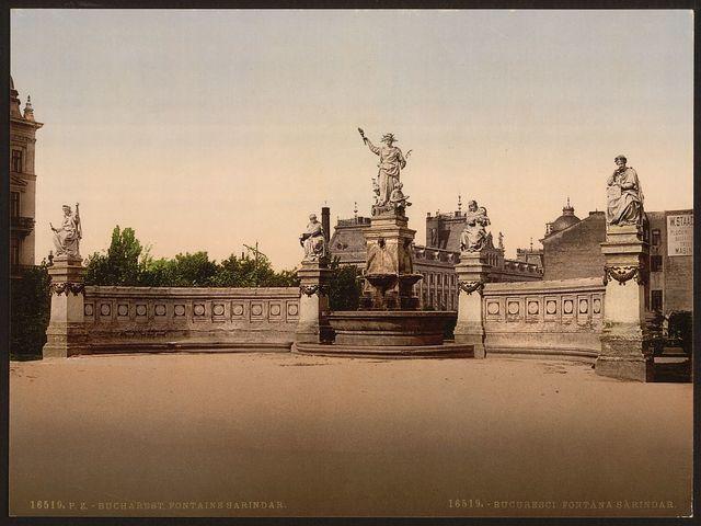 [Sarindar Fountain, Bukharest, Roumania]