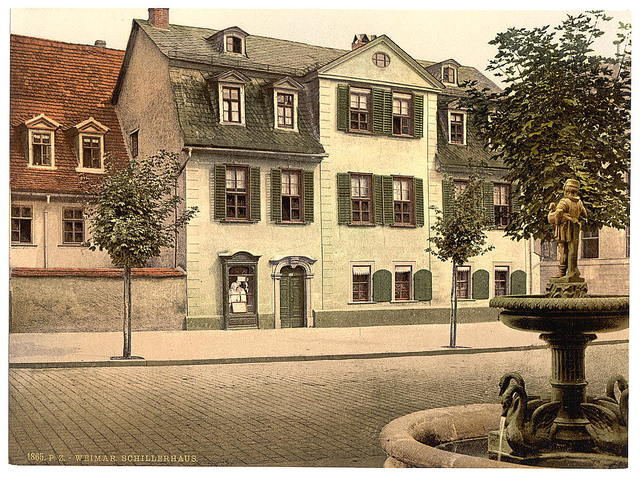 [Schiller's House, Weimar, Thuringia, Germany]
