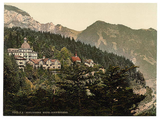 [Seelisberg and Hotel Sonnenberg, Lake Lucerne, Switzerland]