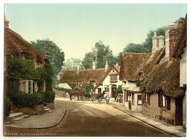 [Shanklin, old village, Isle of Wight, England]