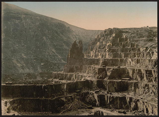 [Slate quarries, Bethesda, Wales]