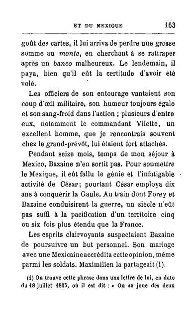 Souvenirs de la Martinique et du Mexique pendant l'intervention française.