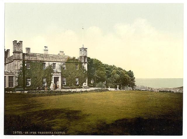 [St. Ives, Tregenna Castle, Cornwall, England]