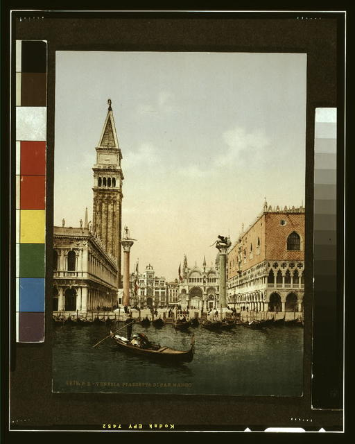 [St. Mark's Place with campanile, Venice, Italy]