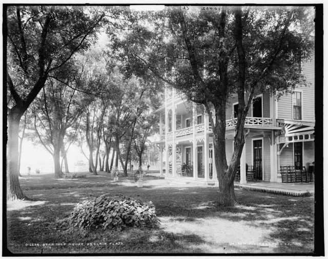 [Star Island House, St. Clair Flats, Mich.]