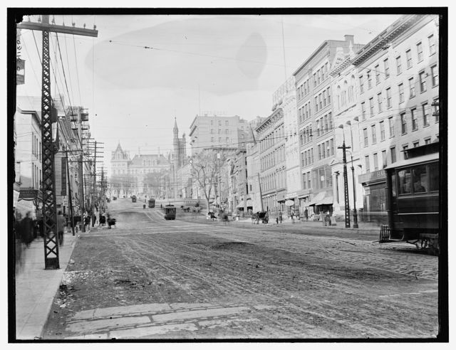 [State St. & Capitol, Albany, N.Y.]