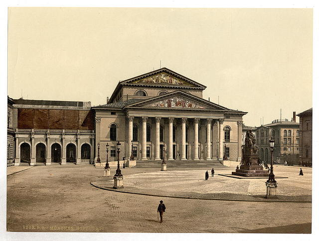 [State Theater, Munich, Bavaria, Germany]