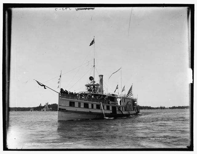 Steamer St. Lawrence, 1000 Islands