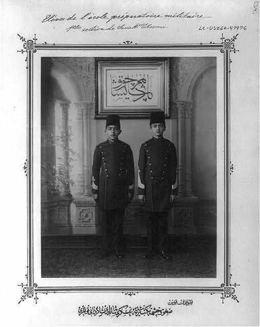 [Students of the Imperial Military Middle School in Soğukçeşme] / fotoğraf Föbus.